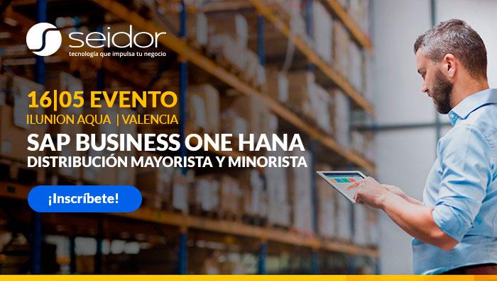 Evento SAP Business One Distribución Valencia