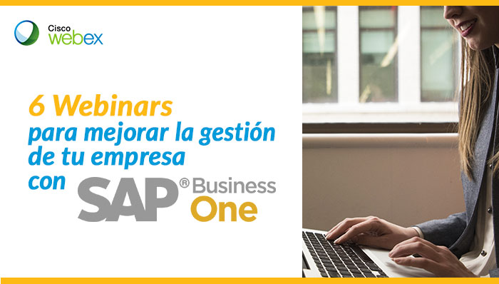 6 webinars para dominar SAP Business One
