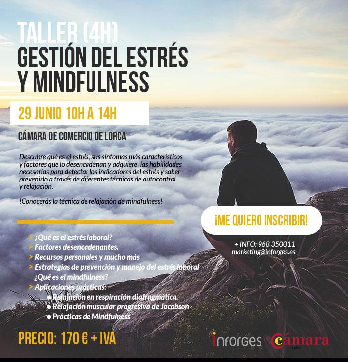 Inscripción taller de gestion del estres y mindfulness