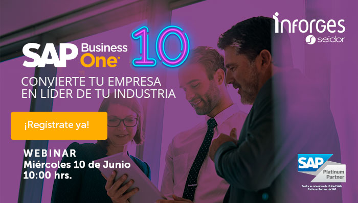 Webinar SAP Business One 10 Inforges Seidor