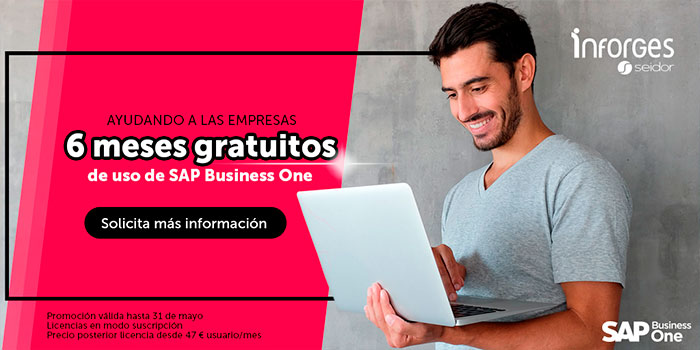 6 meses gratuitos SAP Business One