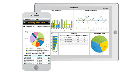 app sap business one crm