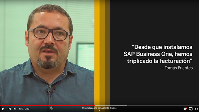 caso exito sap business one agrosana - inforges
