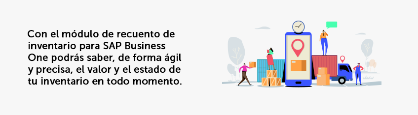 Beneficios módulo recuento de inventario sap business one Inforges
