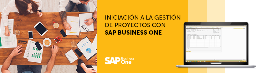 SAP business one Gestion de Proyectos