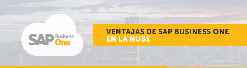 ventajas de sap business one en la nube - inforges